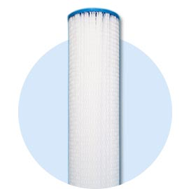 PE/PP/Cellulose pleated filter
