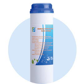 UDF/GAC filter cartridge